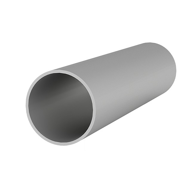 ALUMINUM ROUND TUBE D.50x2mm ANODISED